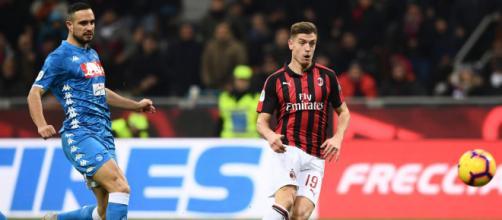 Milan-Napoli: 2-0 con doppietta di Piatek