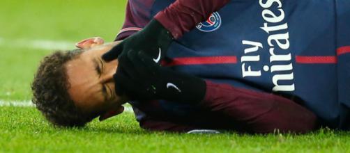 Neymar sera forfait à Manchester United ! - parisfans.fr