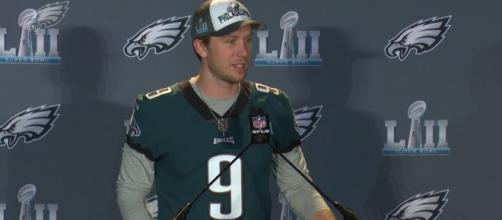 Nick Foles would be great as Washington's next signal-caller. [Image Credit] Philadelphia Eagles - YouTube