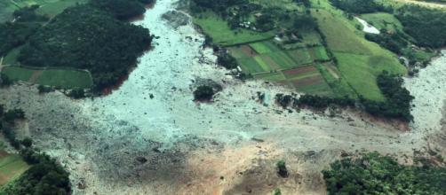 Rompimento de barragem em Brumadinho causa tragédia (Presidência da República/Divulgação)