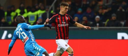 Milan-Napoli si sfidano in Coppa Italia
