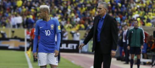 Tite diz que não convoca Neymar machucado Imagem: Reprodução Rede Globo