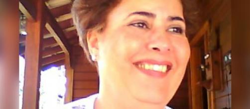 Cleosane, conhecida como Cléo, dona da Pousada Nova Estância. (Reprodução/Facebook)