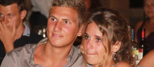Marco Vannini e la fidanzata Martina Ciontoli, figlia dell'assassino.