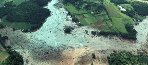 Tragédia em Brumadinho deixa mortos e feridos (Divulgação/Presidência da República)