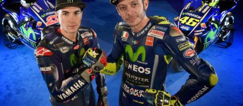 Valentino Rossi: ''La nuova moto sarà nera e blu''