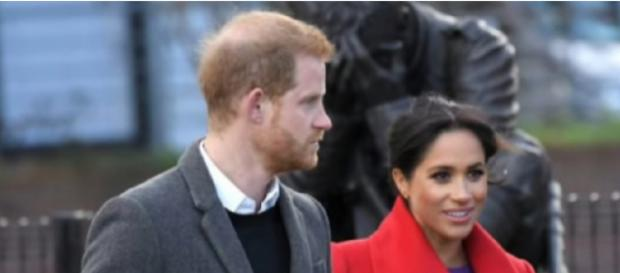 Meghan Markle and Prince Harry Will Spend Valentine's Day Apart This Year. [Image source/Breaking News YouTube video]