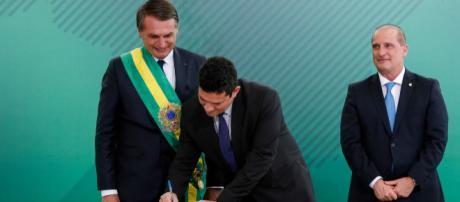 Ministro da Justiça e Segurança Pública, Sérgio Moro (Reprodução/UOL)