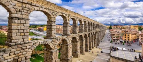 Acueducto de Segovia, Patrimonio de la Humanidad desde 1985.