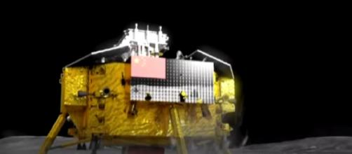 China's Chang'e 4 probe changes orbit to prepare for Moon landing. [Image source/CGTN YouTube video]