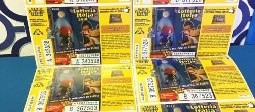 Estrazione biglietti della Lotteria Italia il 6 gennaio 2019