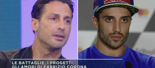 Fabrizio Corona e Andrea Iannone: incontro 'di pace' la notte di Capodanno.