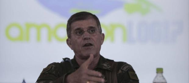 General Theophilo, secretário nacional de Segurança Pública, oferece ajuda federal para conter o crime no Ceará. (Foto: Reprodução)