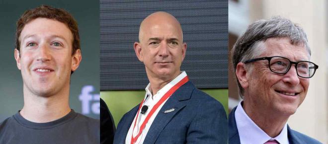 La classifica dei più ricchi del mondo nel 2018: Jeff Bezos sempre in testa
