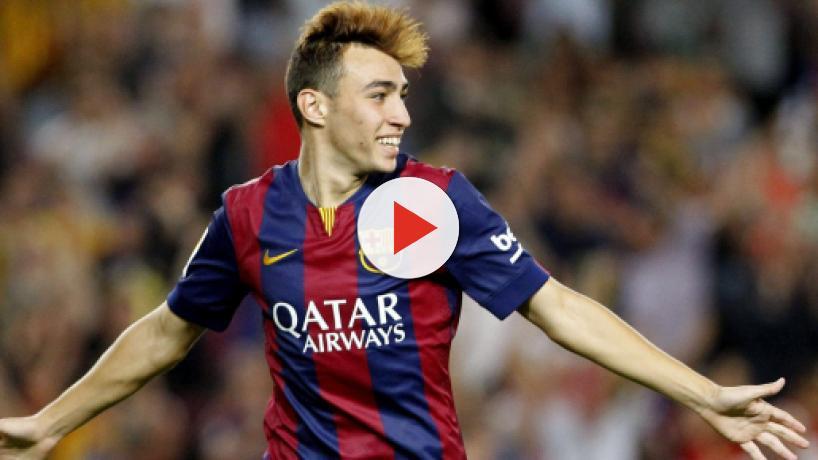 Transfergerücht: Schalke offenbar an Barcelonas Munir El Haddadi interessiert