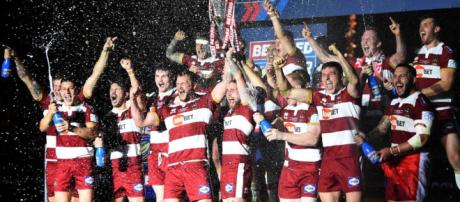 Wigan have been docked two points for salary cap breaches, but will appeal. Image Source - kenzymirror.com