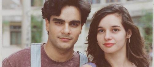 Guilherme de Pádua e Daniella Perez (Reprodução TV Globo)