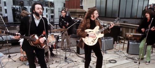I Beatles a Londra in occasione del loro ultimo concerto