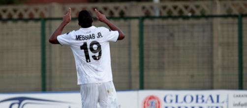 Il calciatore del Gozzano, Junior Messias