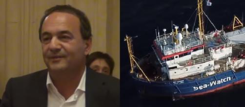 Mimmo Lucano attacca il Pd sulla questione Sea Watch