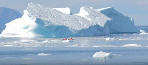 View of glaciers of Baffin Island. [Image source/Arctic Kingdom YouTube video]