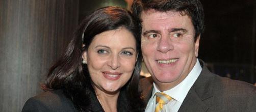 Wagner Montes e Sonia Lima (Reprodução TV Foco)