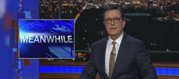 Some news items slip through the cracks. [Image The Late Show with Stephen Colbert/YouTube]