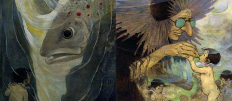 """Illustrations by Jessie Willcox Smith/Wikimedia for the book """"The Water Babies"""" by Charles Kingsley'"""