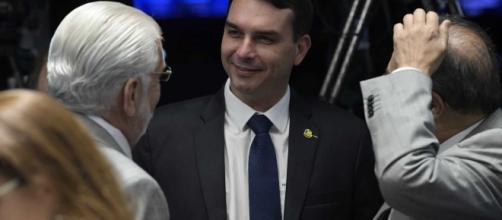Flávio Bolsonaro é denunciado junto à Procuradoria-Geral da República (Foto: Pedro França/Agência Senado)