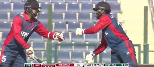 Nepal v UAE live streaming on Youtube (Image via Youtube screencap)