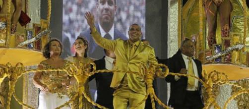 Ronaldo brilhou no Carnaval de São Paulo (Reprodução)