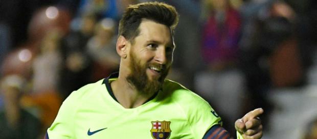 Barcelone - Lionel Messi a reçu le cinquième Soulier d'Or européen ... - goal.com
