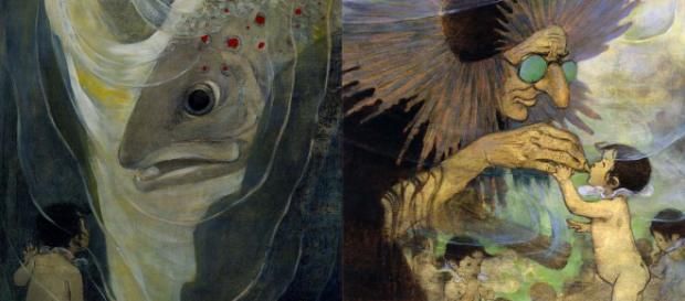 "Illustrations by Jessie Willcox Smith/Wikimedia for the book ""The Water Babies"" by Charles Kingsley'"