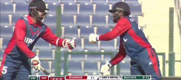 Nepal v UAE live streaming on Youtube (Image via Youtube screencap)