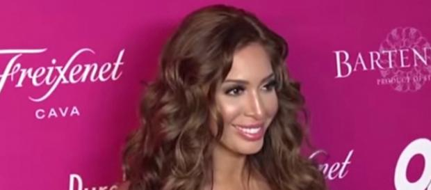 Reality star Farrah Abraham attracts anger on social media for video of daughter Sophia. - [OK! Magazine / YouTube screencap]