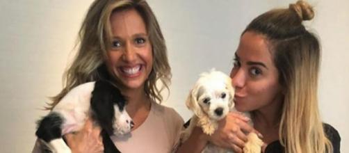 Anitta e Luísa Mell (Instagram)