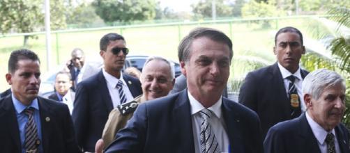 Bolsonaro elogiou Sério Moro (Crédito: Antonio Cruz/Agência Brasil)