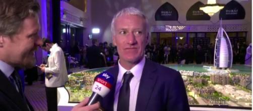 Didier Deschamps, tecnico della nazionale francese - Foto: sport.sky.it