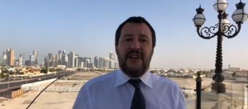 Matteo Salvini va giù duro contro il sindaco di Napoli De Magistrsi