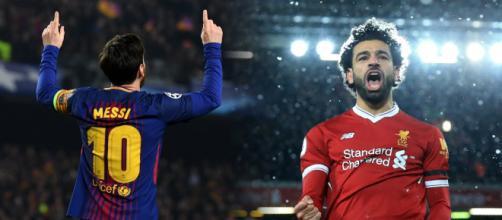 Mercato FC Barcelone : Salah 'veut jouer avec Messi'