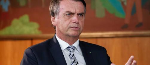 Presidente Jair Boolsonaro concedeu entrevista ao SBT e falou sobre o caso Adélio. (Foto: Alan Santos/PR)