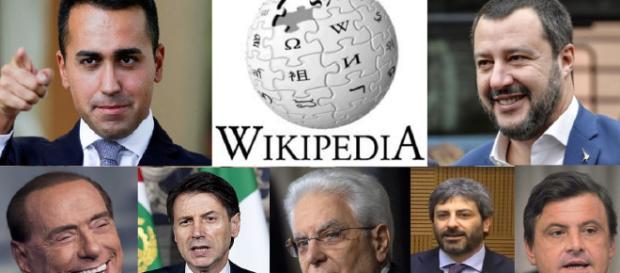Wikipedia classifica 2018 dei politici pi cercati di for Lista politici italiani