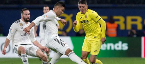 Real Madrid empató 2-2 con el Villarreal por fecha aplazada