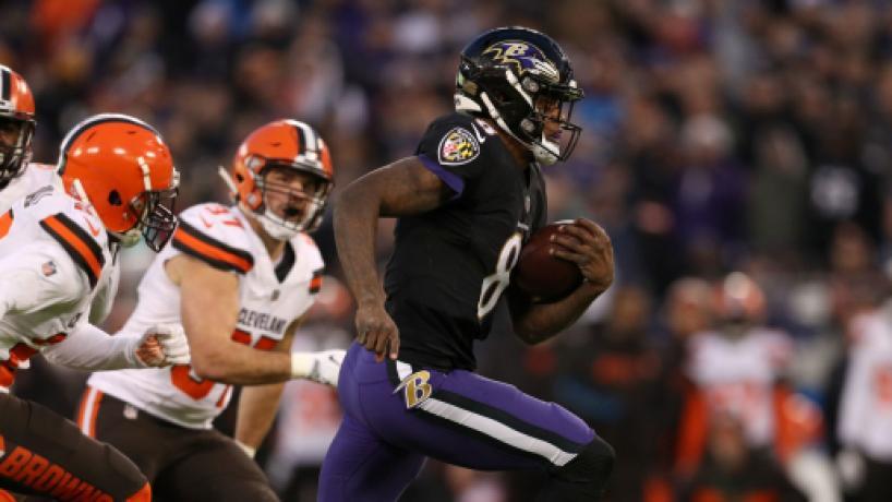 NFL Semana 17: Ravens conquistan la División Norte de la AFC al vencer a los Browns