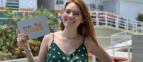 """Ana Clara, repórter do """"Rede BBB (Crédito: Gshow)"""