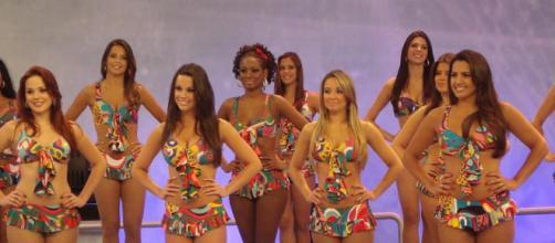 Bailarinas são atração à parte no programa (Reprodução TV Globo)