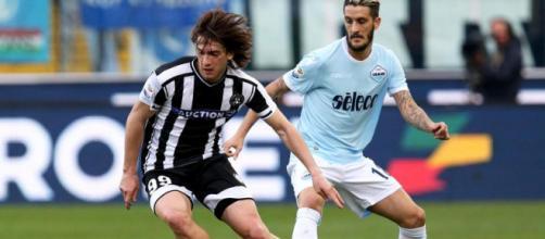 Il centrocampista croato Andrija Balic dell'Udinese
