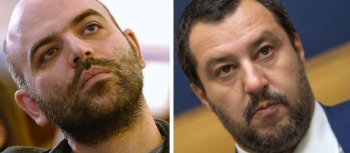 Salvini contro Saviano, nuovo scontro