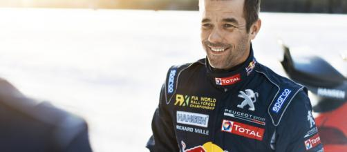 Sébastien Loeb au départ du Dakar