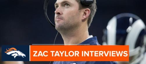 Zac Taylor could be the next Broncos head coach [Image via Denver Broncos/YouTube screencap]